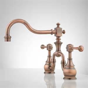 Kitchen Lever Handles Vintage Bridge Kitchen Faucet With Lever Handles Ebay