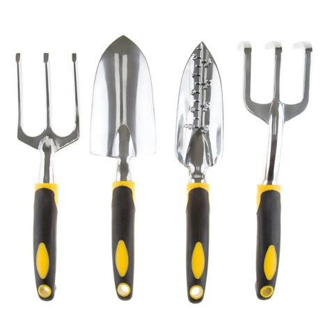 backyard tools pure garden garden tools set 4 pieces m150061 the home