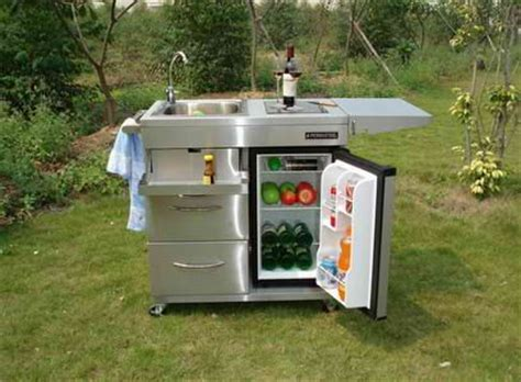 portable outdoor kitchen island portable outdoor kitchen ideal of small patio space