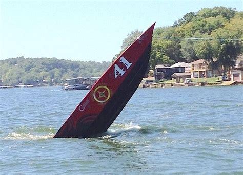 boat crash ozarks two cocks racing flips at lake of the ozarks lakeexpo