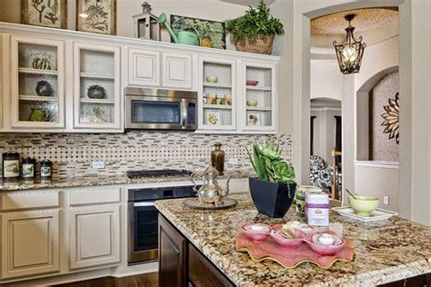 kitchen appliances san antonio gehan homes kitchen country chick glass cabinets white