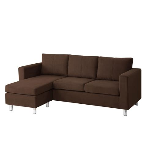 Small Leather Sofa With Chaise Small Leather Sectional Sofa With Reclining Back Chaise S3net Sectional Sofas Sale