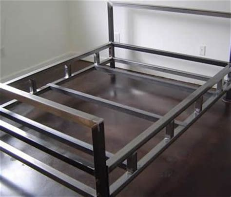steel bed frame 25 best ideas about steel bed frame on steel