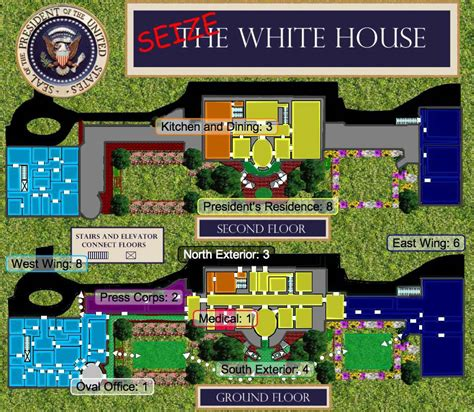 directions to the white house white house map