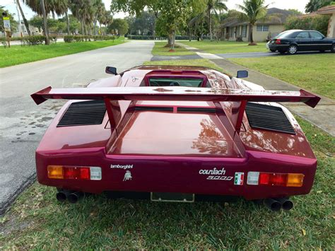 how cars run 1985 lamborghini countach security system 1985 lamborghini countach 5000 replica for sale in fort lauderdale florida united states