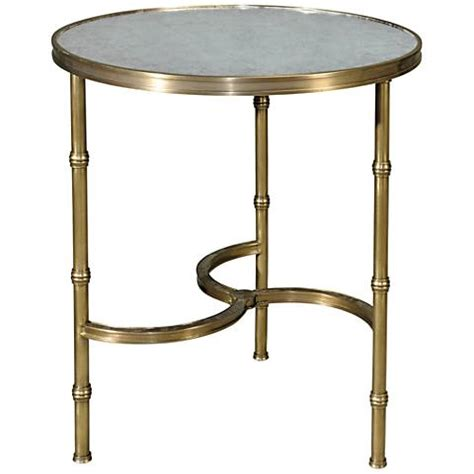 round glass top accent table brass all around glass top round accent table 1r210