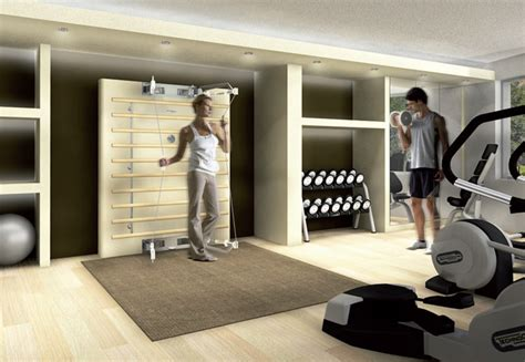home and fitness equipment technogym exercise room