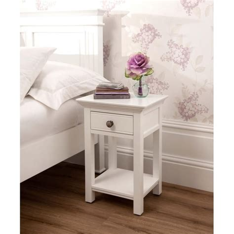 white shabby chic bedside table open shabby chic bedside table works well alongside