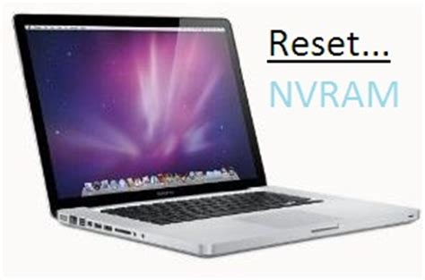 reset nvram macbook air 2015 how to reset nvram on macos high sierra earlier mavericks