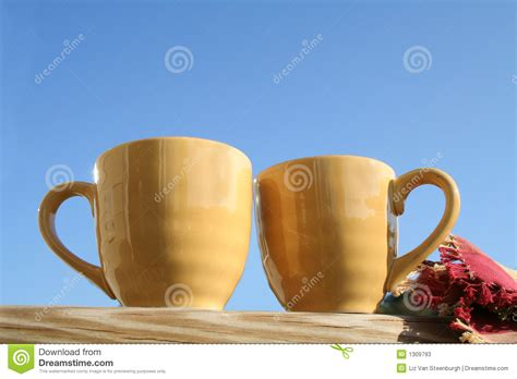 Coffee On The Porch Stock Photos   Image: 1309793