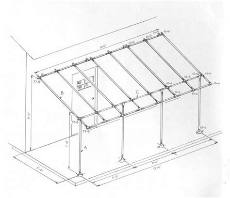 what size awning do i need 9 best galvanized pipe awning images on pinterest