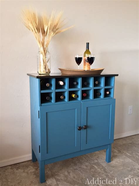 Bar Cabinet Hack by Tarva Hack 3 Drawer Chest To Bar Cabinet