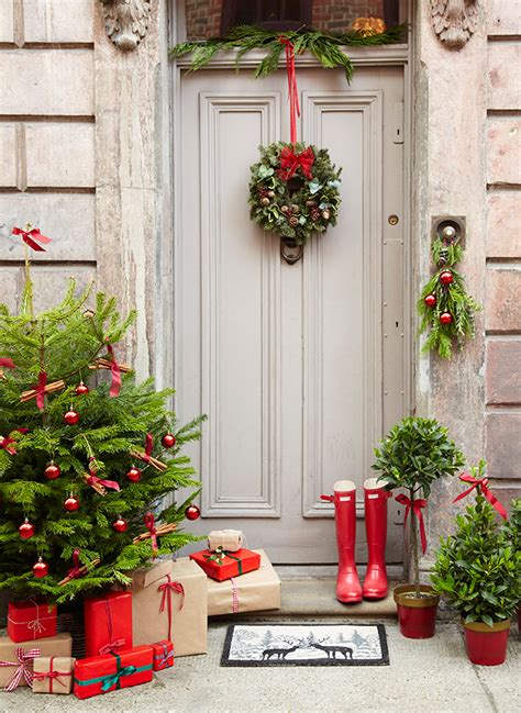 decorate my home for christmas 5 christmas front door decorating ideas the relaxed home