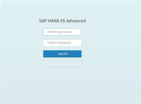 sap xs tutorial sap hana xs advanced creating an html5 module developer
