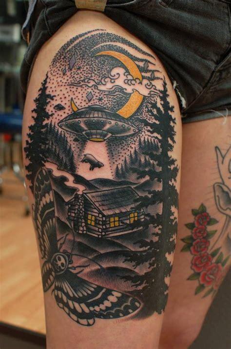 Sirlexi Rex Tattoo Ufo Theme Tattoomagz Theme Tattoos