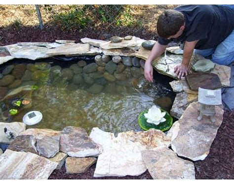 how to make a backyard pond how to build a pond easily cheaply and beautifully the