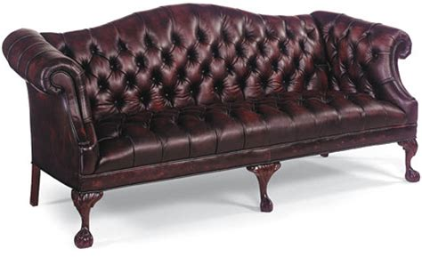 leather sofa tufted tufted burgandy leather ball claw sofa ebay