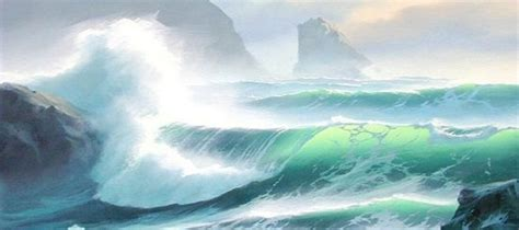 watercolor tutorial seascape seascape oil painting by byron pickering art and