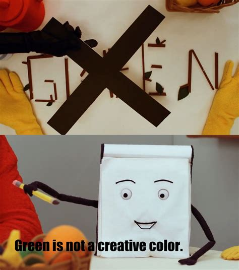 green is not a creative color green is not a creative color dhmis the padlock fandom