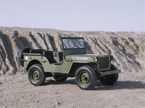 Willys Mb Jeep 1942 Willys Mb Jeep Milestones