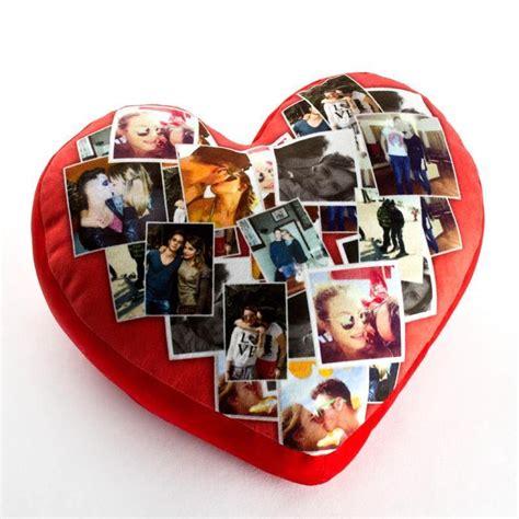 cuscino con la foto cuscino cuore personalizzato foto regali originali