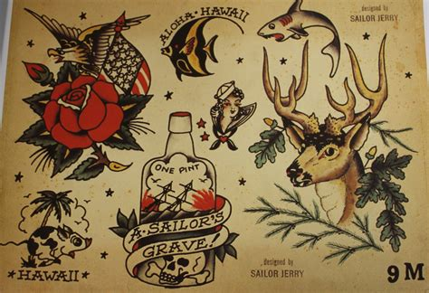 sailor jerry tattoo zero6 arte desordem mess sailor jerry original