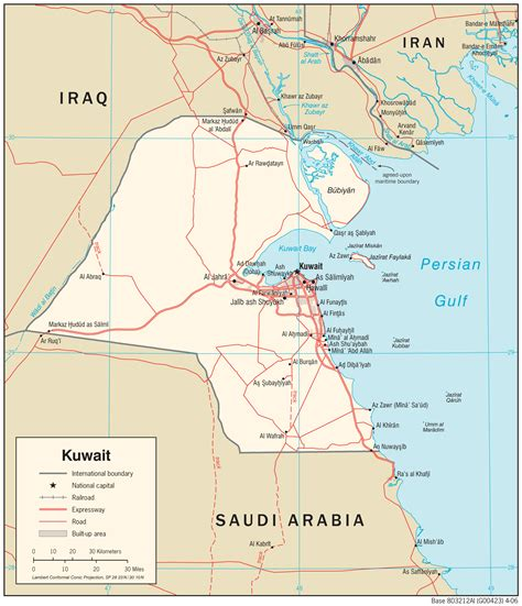middle east map kuwait kuwait maps perry casta 241 eda map collection ut library