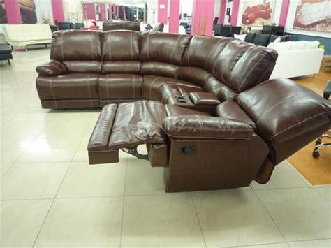 lounge suites saddle stitch leather recliner lounge