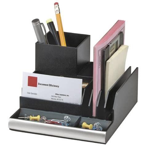 Officeworks Desk Organiser by Italplast Desk Organiser Black Ebay