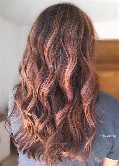 brown and gold hair colour 25 best hairstyle ideas for brown hair with highlights