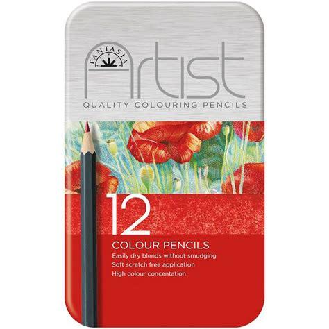 fantasia colored pencils pro fantasia premium colored pencil set 12pc
