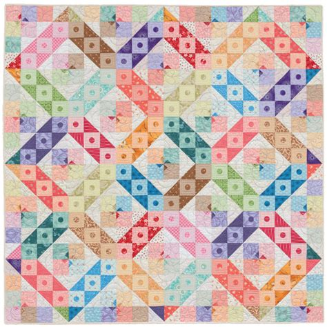 Triangle Patchwork Quilt - triangle quilts the hst stitch this the