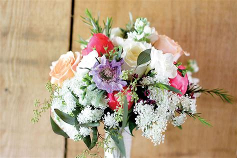 Wedding Bouquet Herbs by Herb And Wildflower Bouquet Bridesmaid Bouquets