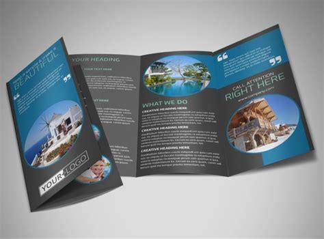vacation brochure template vacation rentals brochure template mycreativeshop