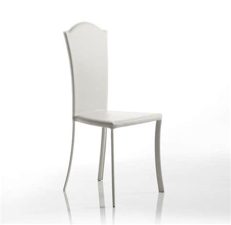 sedie classiche per sala da pranzo sedia in cuoio dalle linee classiche per la sala da