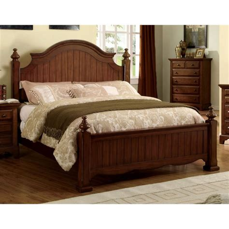 california king poster bed furniture of america fletcher california king poster bed