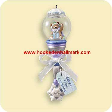 2006 baby s first christmas hallmark ornament at hooked on