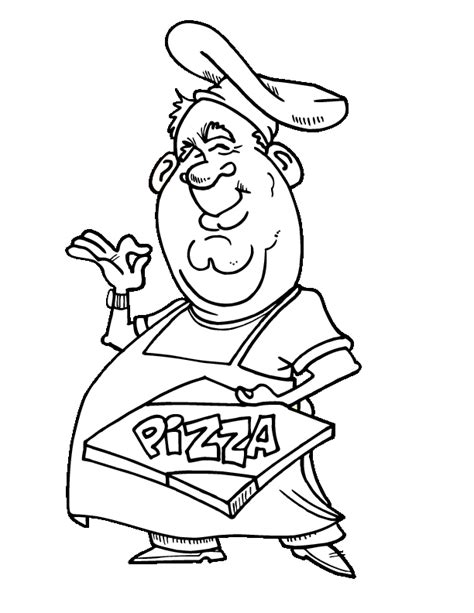 pizza coloring pages to print coloring pages