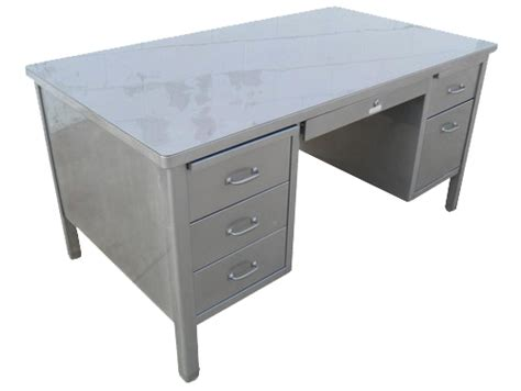 steel tanker desk for sale steelcase 60 quot vintage steel stick leg tanker desk