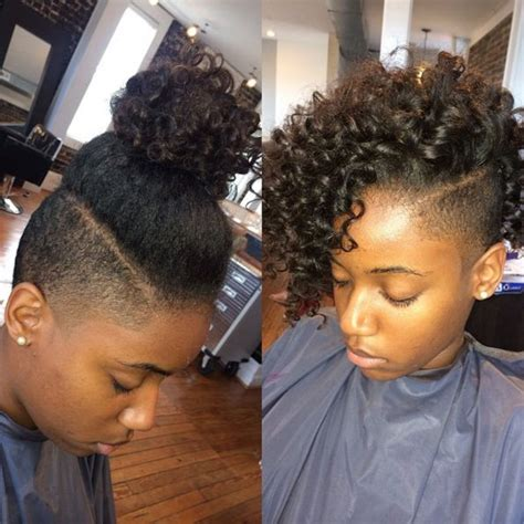 Shave Side Of Hair Style For Black by Sides Hairstyles For Black Hair Search