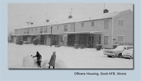 scott afb housing bob wegner memories
