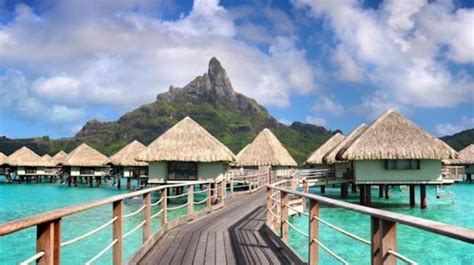 bora bora bungalow resorts bora bora island overwater bungalows and water villa resorts
