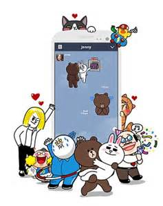 Line Friends Brown Choco Newyork Mousepad are brown and cony the bunny the new emoji daily mail