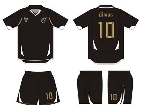 desain baju keren depan belakang beragam desain kaos futsal depan belakang dan celana keren
