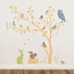 Wall Stickers Tree Decal8 Designer Interior Wall Stickers Fabric Build A