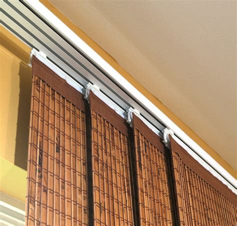 Curtain Rods For Sliding Glass Doors With Vertical Blinds Vertical Blinds Sliding Glass Doors