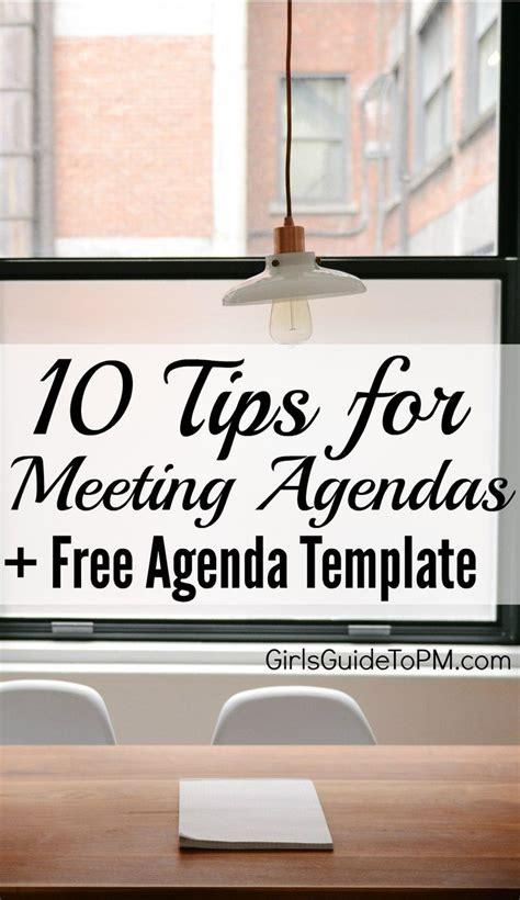 team meeting agenda template official templates pinterest