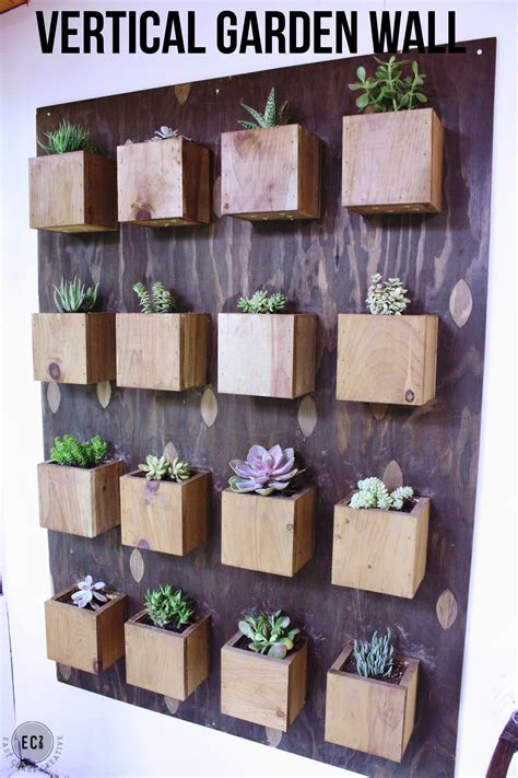 Diy Vertical Wall Garden Scrap Wood Wall How To Make Your Own Wood Stains