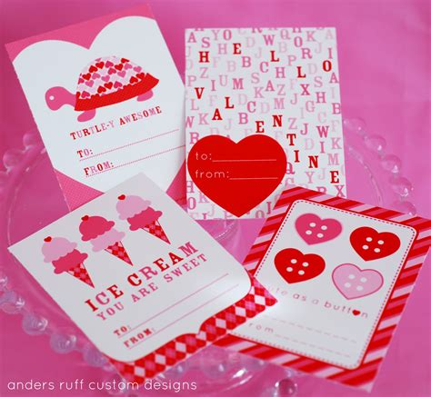 valentines day card for free printable anders ruff is one year we you