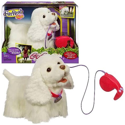 furreal friends walking furreal friends go go my walking pup hasbro furreal friends plush at